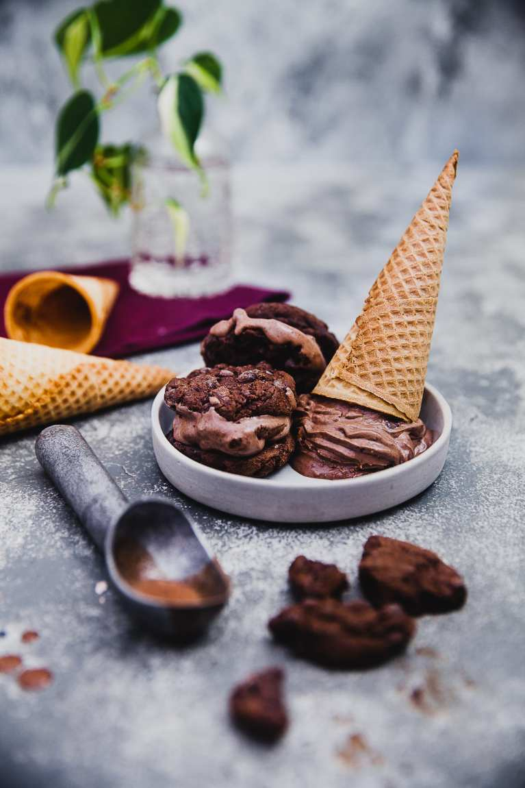 nutella chocolate cookies icecream 05