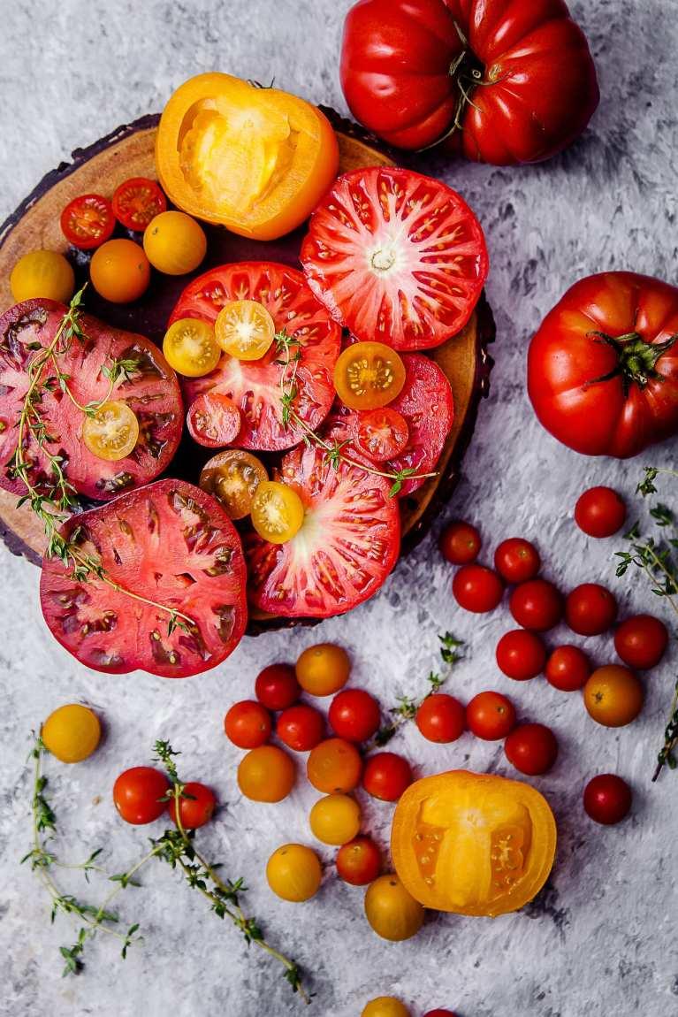 Tomato Thyme Ricotta Galette 2