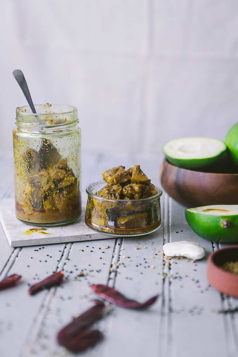 Spiced Mango Pickle (Aam Ka Achaar) | Playful Cooking #playfulcooking #achaar #mango #pickle #foodphotography #indianfood #photography