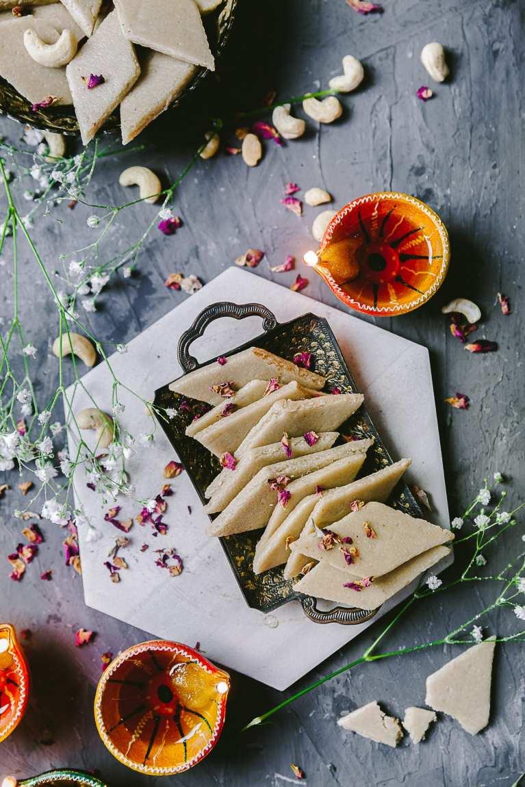 Kaju Katli | Playful Cooking #cashew #fudge #kaju #katli #diwali #sweets #dessert #indian