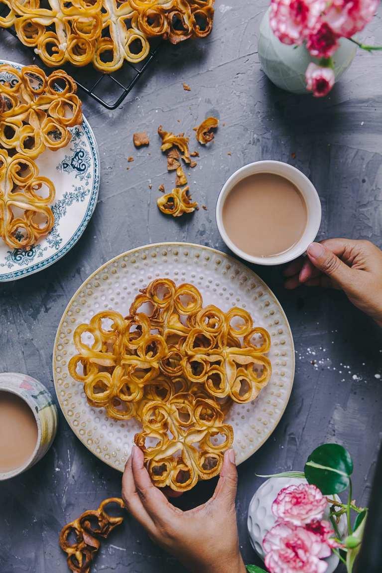 Fuljhuri Pitha/Rose Cookies #playfulcooking #rosecookies #fuljhuripitha #rosettecookies #cripsy #snack #teatime