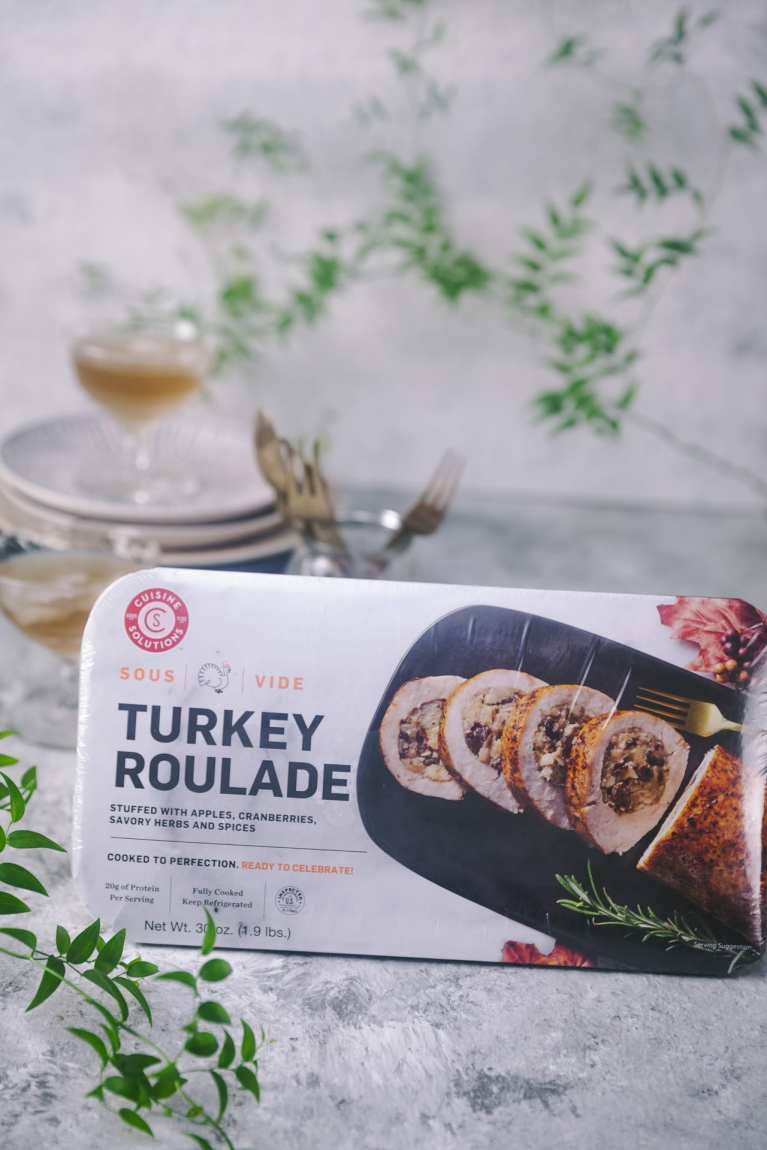 Cuisine Solutions Holiday Party Meals | #cusinesolutions #holidaymeal #parties #turkey #thanksgiving