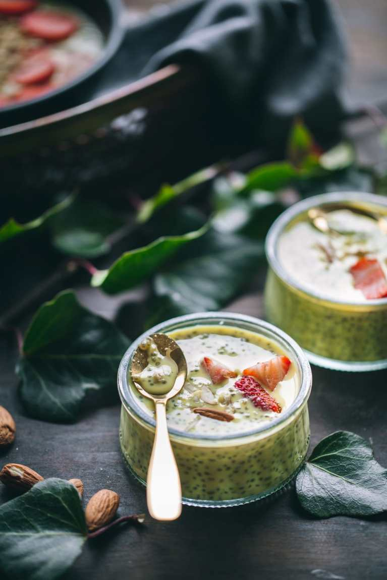Chia Pudding in Badam Doodh 2
