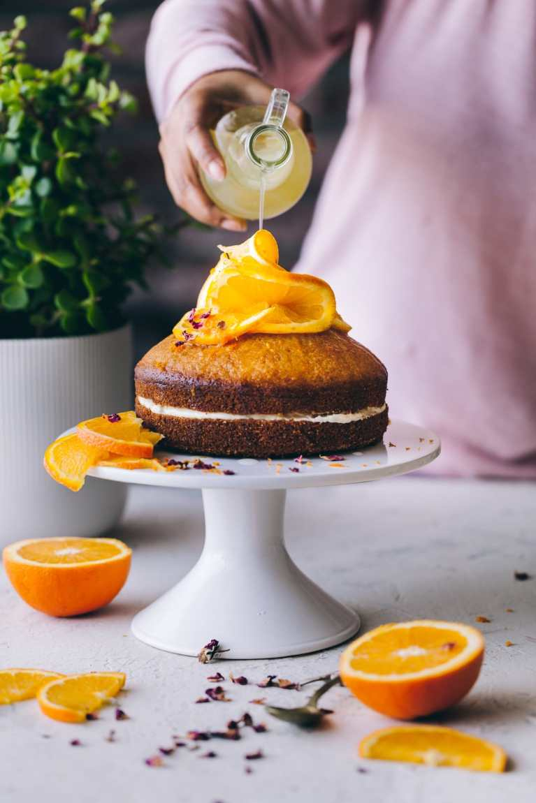 Food photography | Playful Cooking #cake #orangecake #cornmealcake #foodphotography This shop has been compensated by Collective Bias, Inc. and its advertiser. All opinions are mine alone. #MazolaHeartHealth #CollectiveBias
