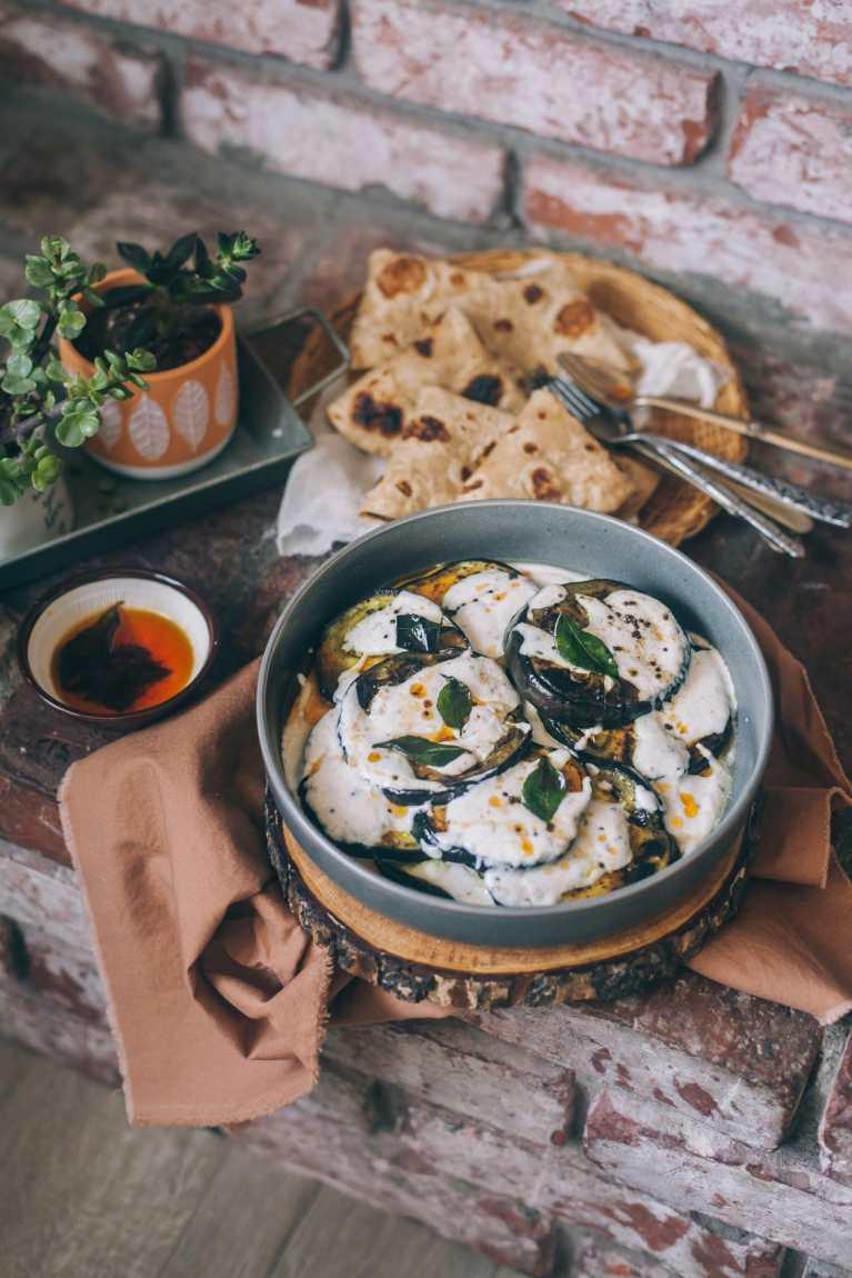 Doi Begun (Eggplant In Spiced Yogurt) 1