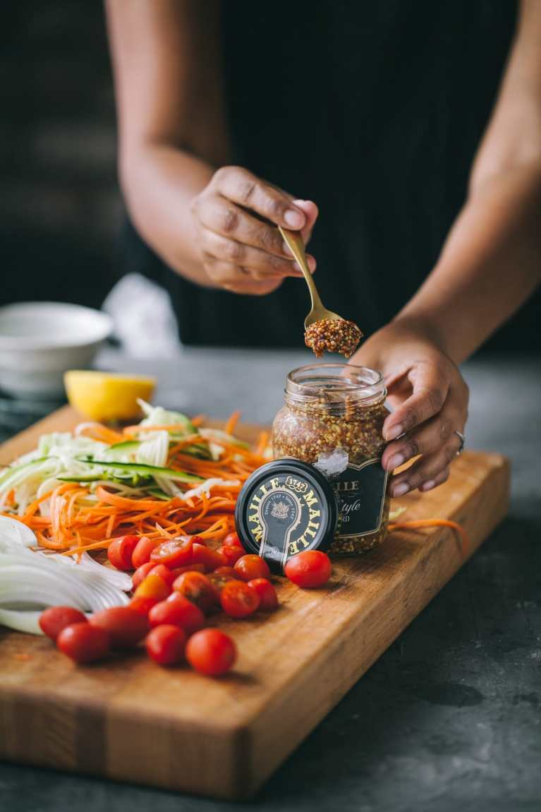 Maille Mustard #fish #seafood #tilapia #baked #healthymeal