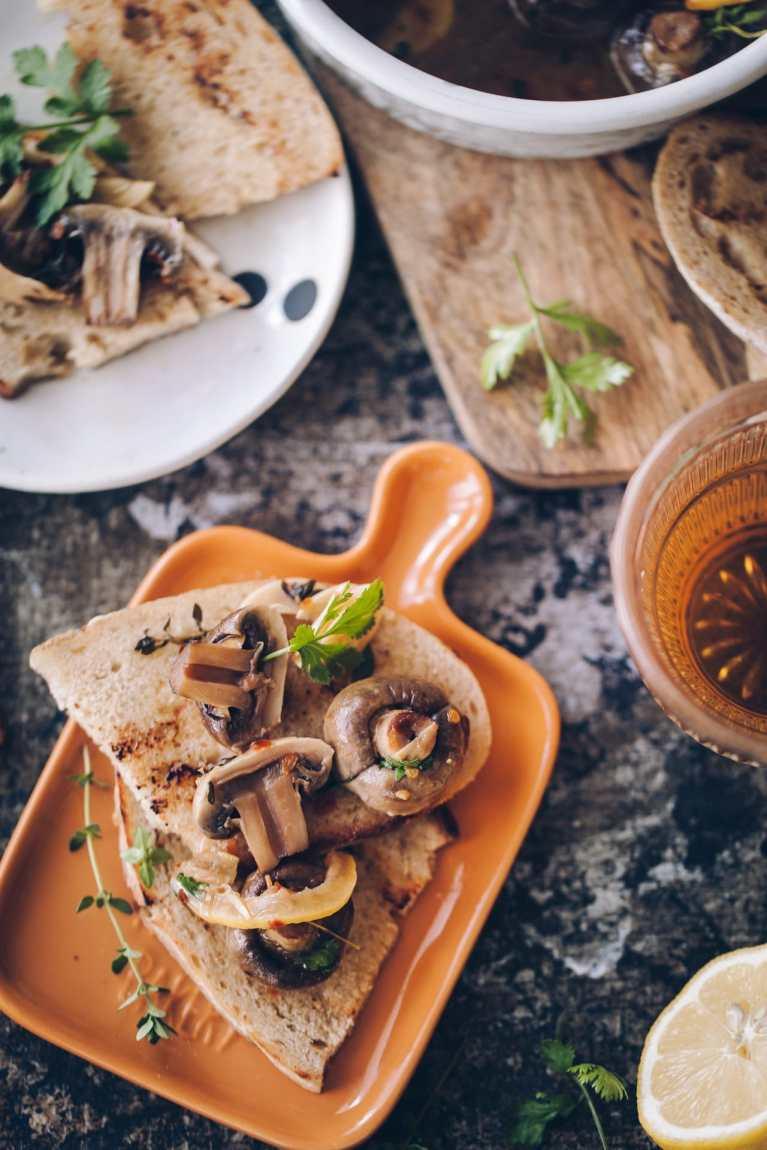 Roasted garlic mushroom | Playful cooking #mushroom #roasting #garlic #foodphotography
