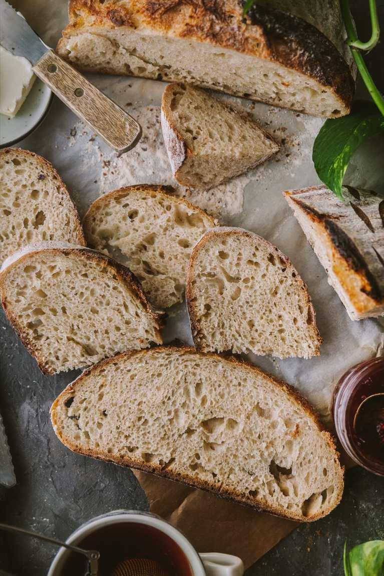 Sourdough Bread : No knead and Easy! 6
