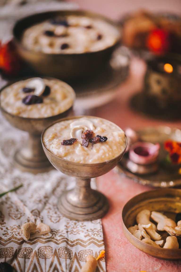 Bengali Rice Pudding - Patali Gur Payesh