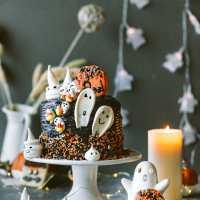 Halloween Layered Cake