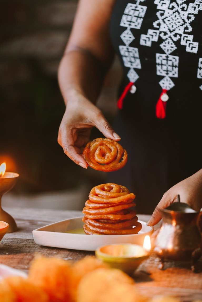 Instant Jalebi - with TIPS