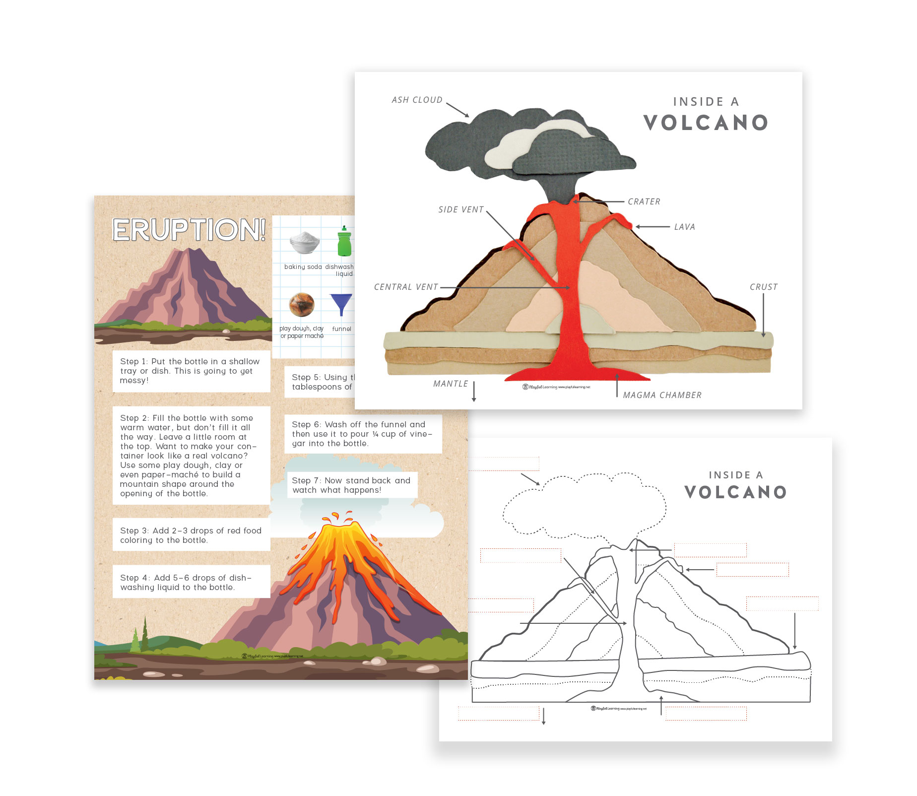 Volcano Playful Learning