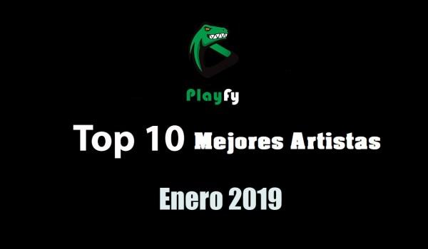 Top 10 de los artistas mas escuchados en Spotify en 2019