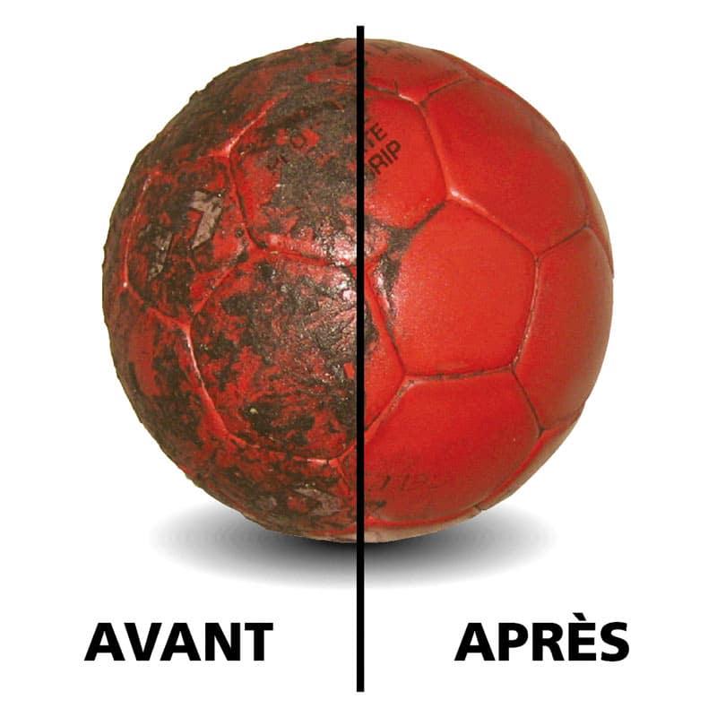 Donnez une nouvelle vie à vos ballons de handball à nettoyant facilement la colle