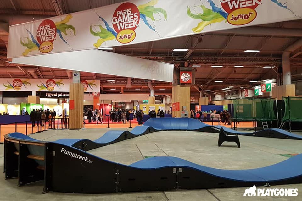 Ensemble des modules de la pumptrack