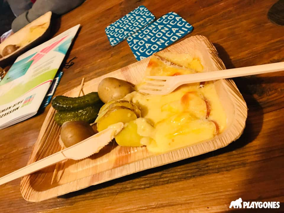 Raclette offerte par CONICA Lt