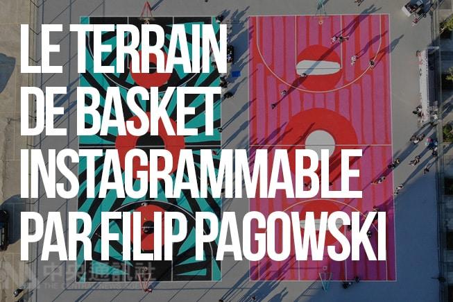 Le terrain de basket instagrammable par Filip Pagowski