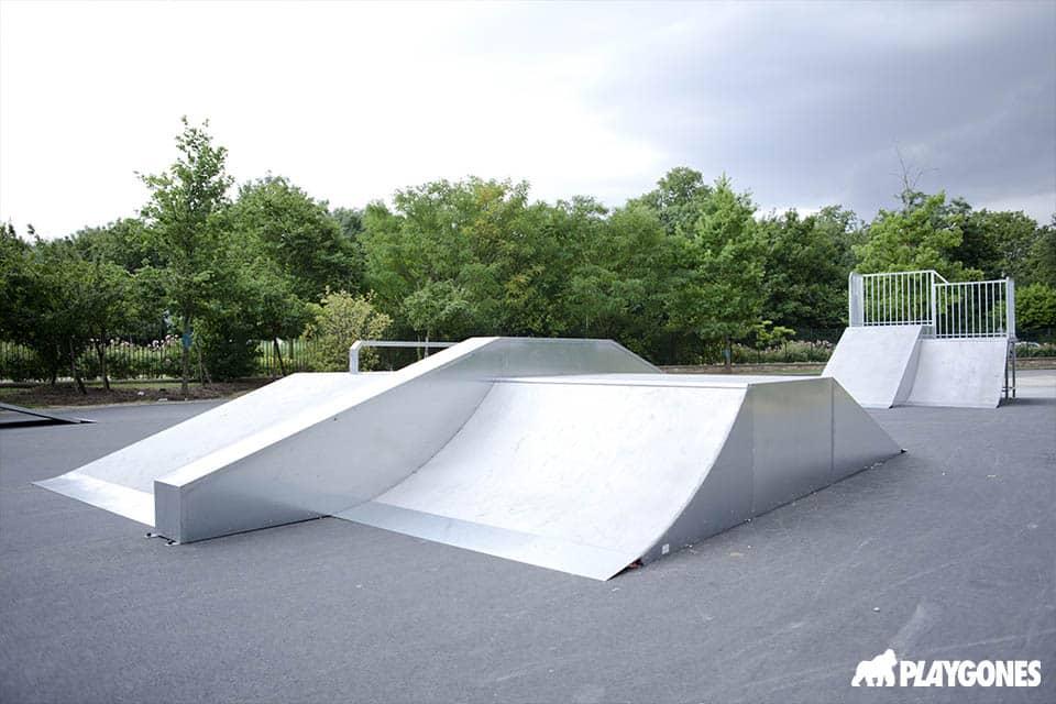 skatepark modulaire de yerres