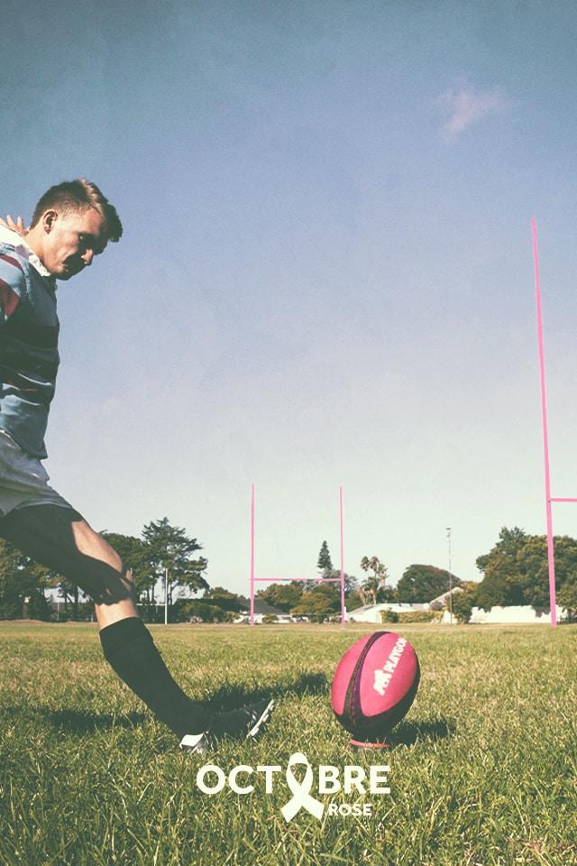 Rugby, campagne de prévention Cancer et sport santé