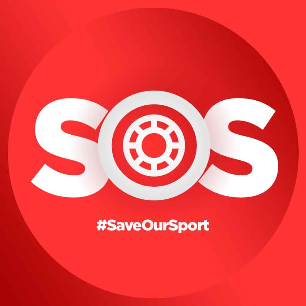 SOS Skateboard - #saveoursport