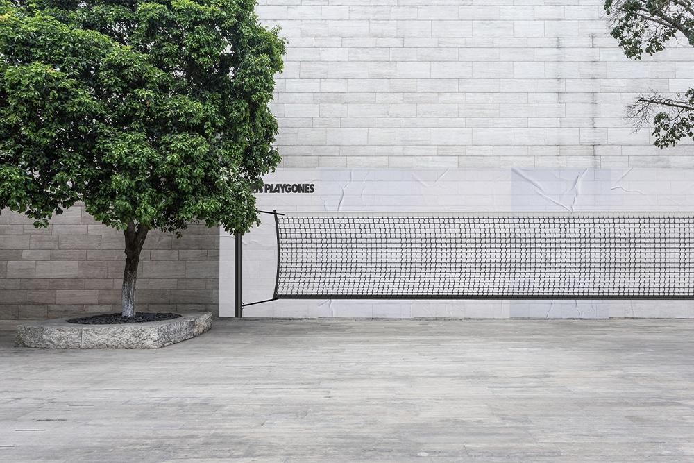 tennis - sport de rue - marketing sportif et propagande active