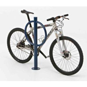 hitch post bike rack by ultrasite