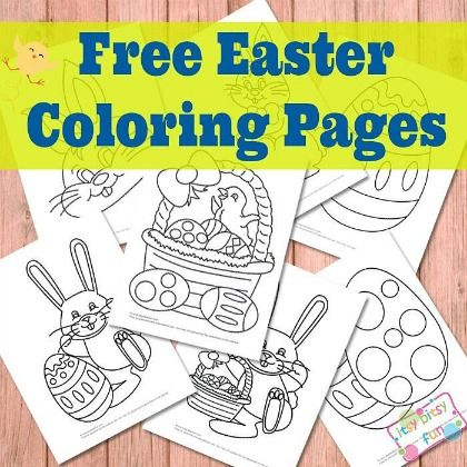 10 Free Easter Coloring Pages Page 8