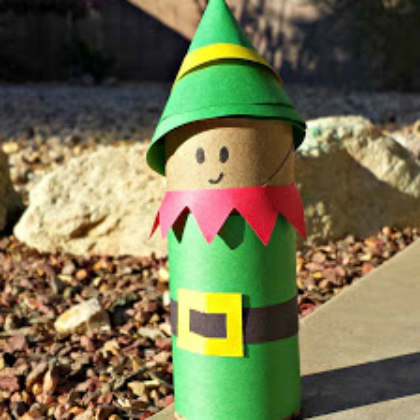 25 awesome elf crafts for kids this little tp. 25 Awesome Elf Crafts For Kids