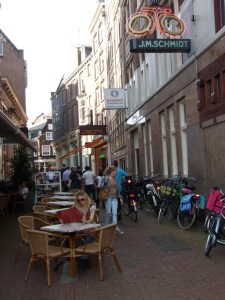 Street Café in Amsterdam