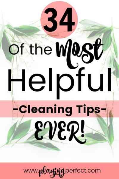 34 Of The Most Helpful Cleaning Tips Ever!