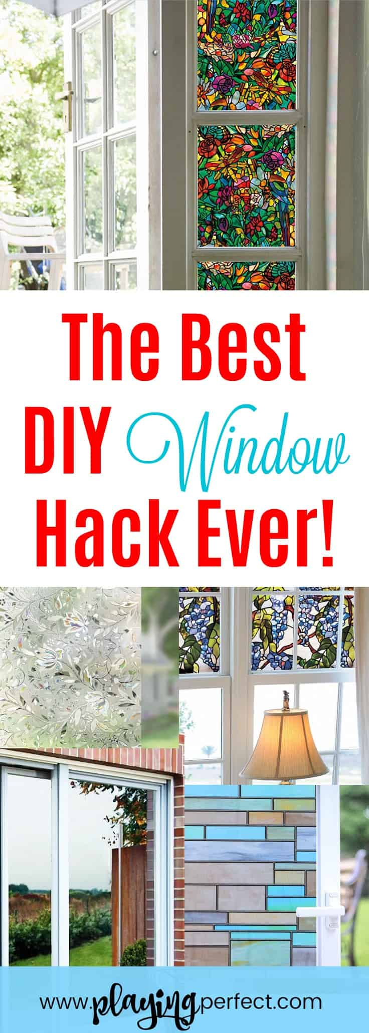 Wow Window Film Is The Best DIY Window Hack Ever - Playing Perfect