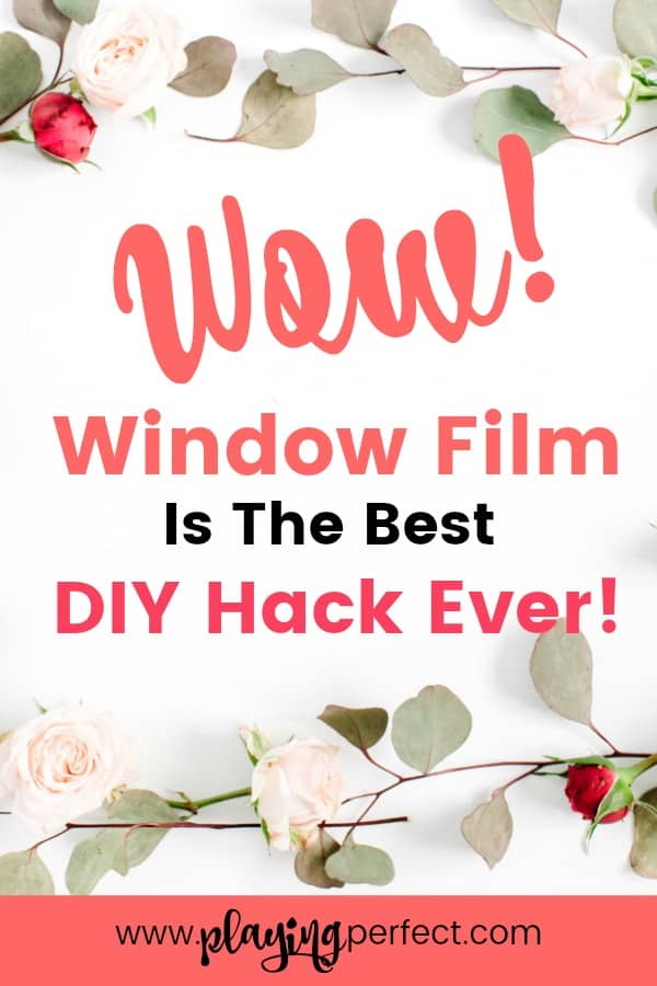 Amazing Decorative Window Film Ideas Window film is an amazing DIY hack! You can have window privacy, create a