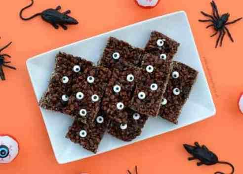 halloween rice krispie treats halloween rice krispie treats chocolate eyes check out the ultimate