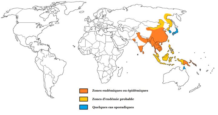 encephalitejaponaise-vaccins-carte