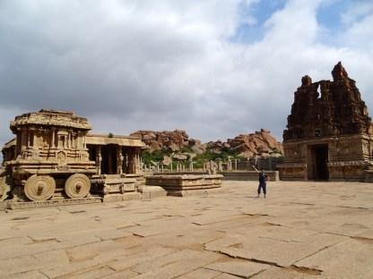 Le temple Vittala a Hampi dans le karnataka en inde