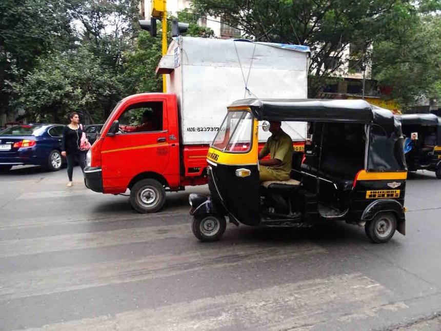 Un Rickshaw à Mumbai en Inde
