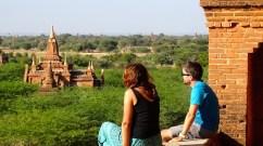 Photo de la plaine des temples a Bagan