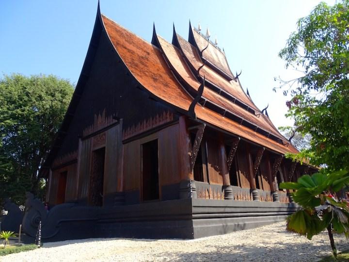 La maison noire a chiang rai en thailande
