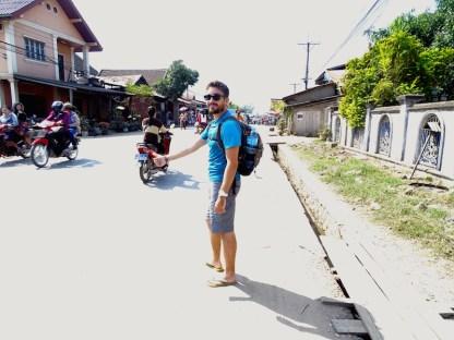 Un auto-stoppeur au Laos