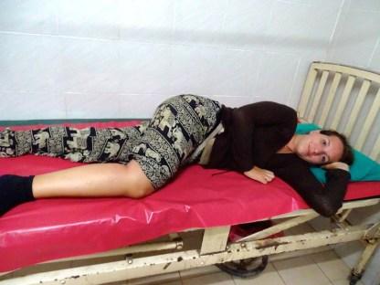 L hopital de sang vient au Laos