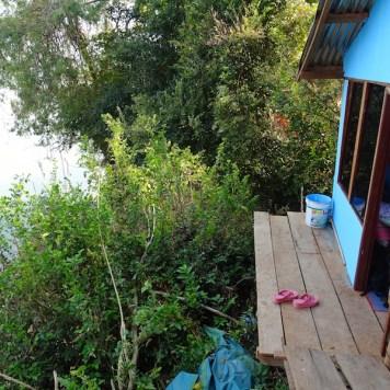 Notre super chambre avec balcon suspendu !