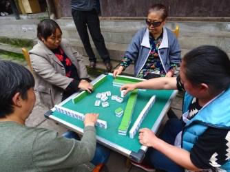 Le majong, une tradition dans toute la Chine !