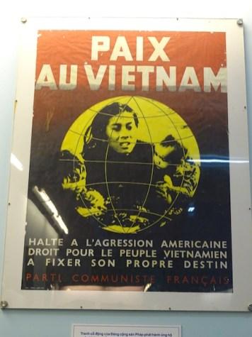 Image de propagande anti guerre