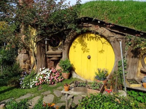 La maison de Sam à Hobbiton
