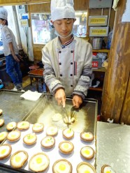 Oeuf cuits sur champignon