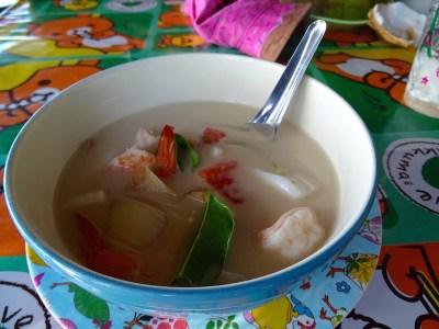 La soupe au lait de coco, Thaïlande