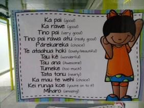 Quelques mots maoris
