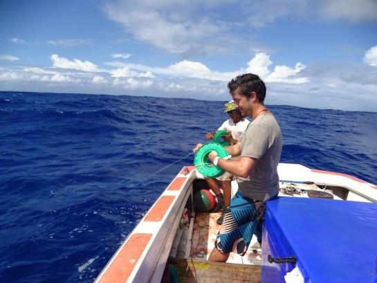 journée pêche à Maupiti