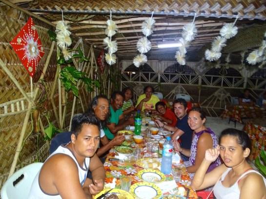 Dernier repas avec la famille