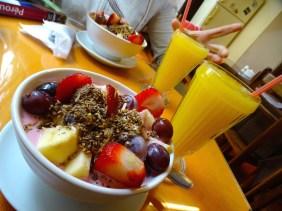 Petit dej fruité
